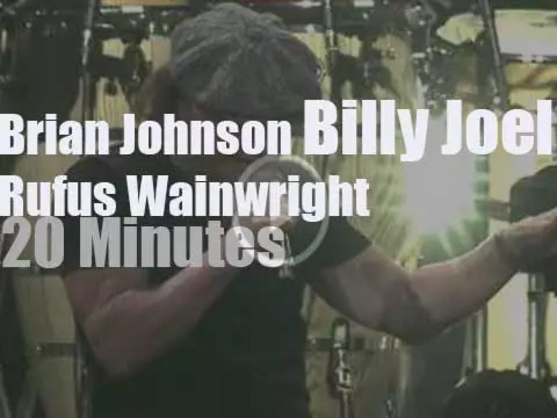 Brian Johnson et al join Billy Joel in Orlando (2014)