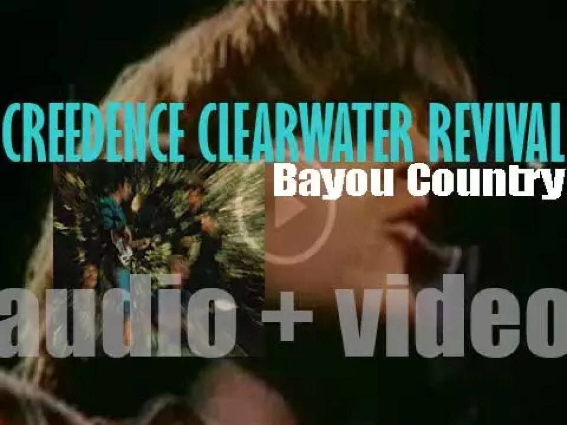 Creedence Clearwater Revival release their second album : 'Bayou Country' featuring 'Proud Mary' and 'Born on the Bayou' (1969)