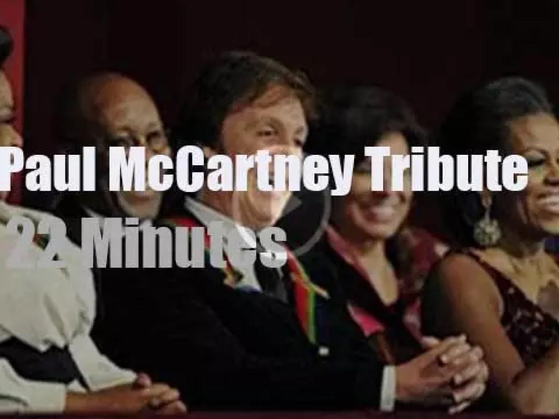 Dave, Norah, Steven et al honor Paul McCartney (2010)