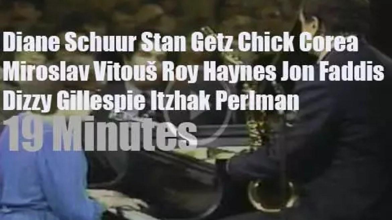 Stan, Chick, Dizzy et al go to the White House (1982)