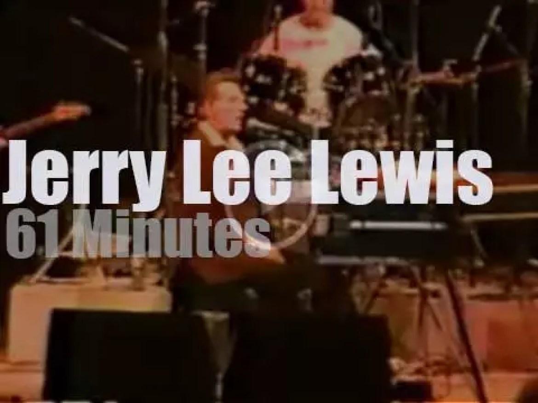 Jerry Lee Lewis rocks Athens (1990)