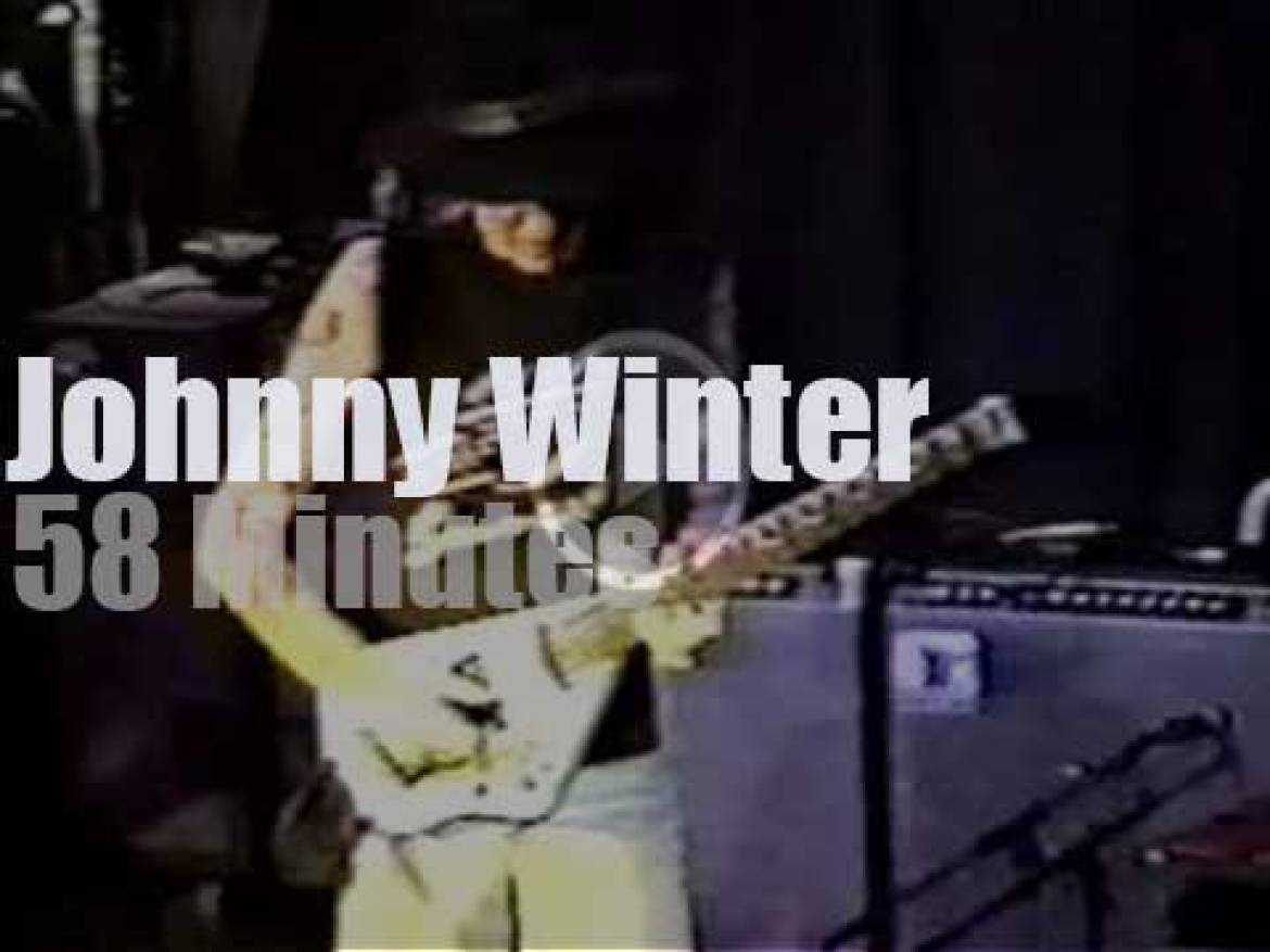 Johnny Winter play in Baltimore (1992)
