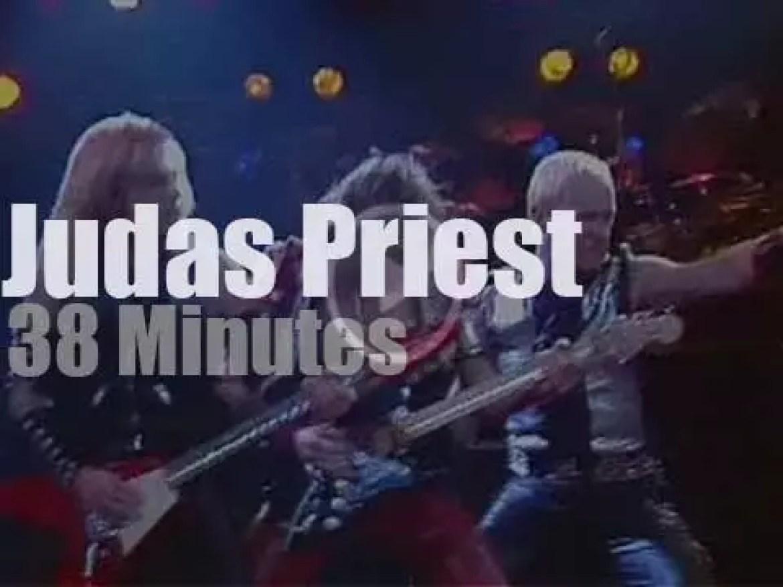 Judas Priest  attend a German Festival (1983)