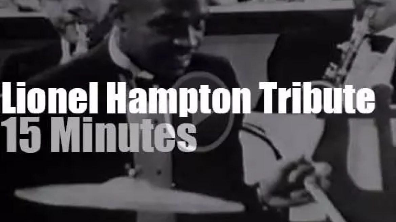 Herbie, Aretha et al honor Lionel Hampton (1992)