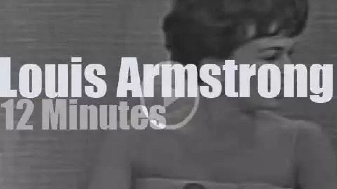 On TV today, Louis Armstrong has a secret (1965)