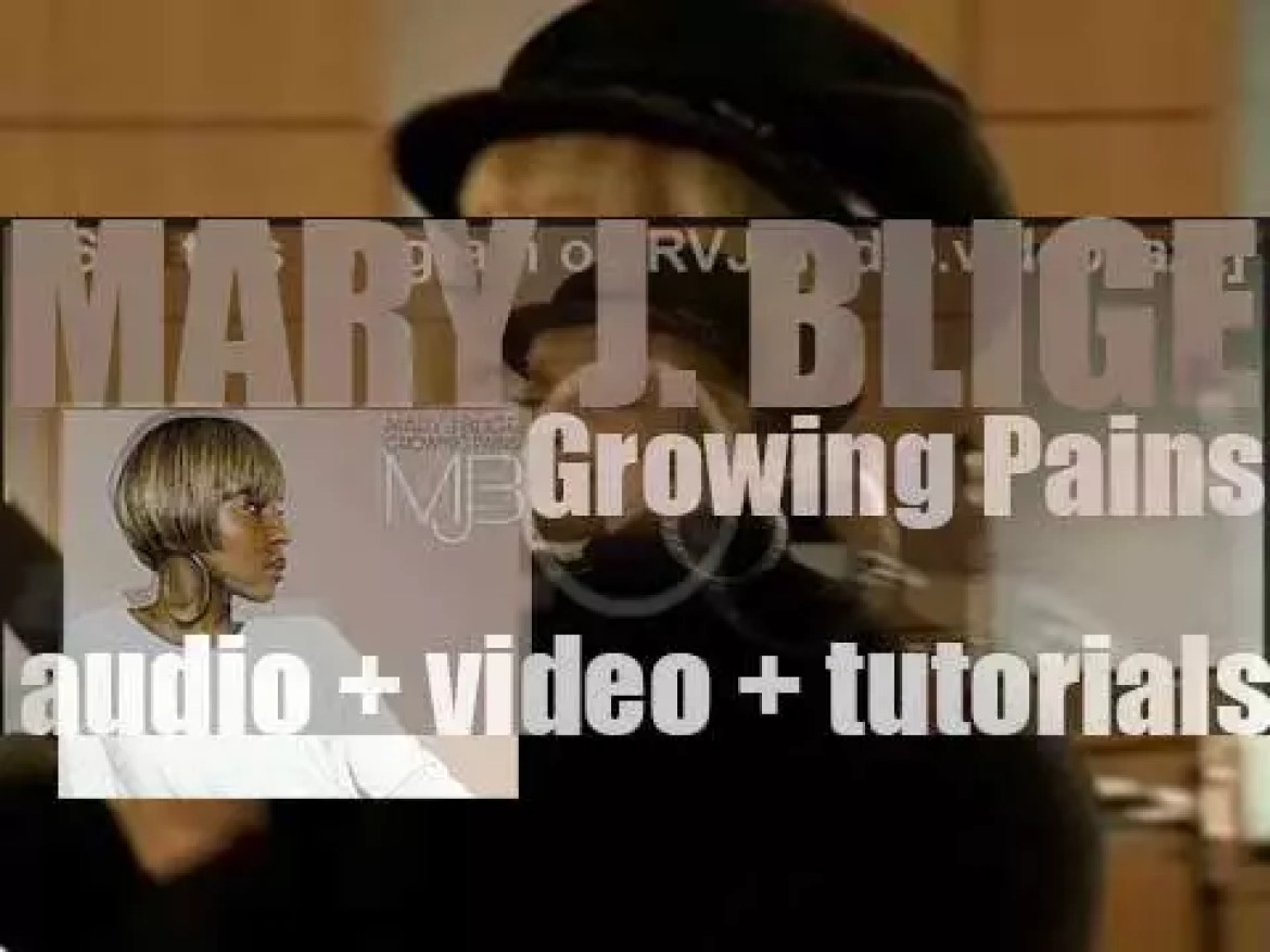 Geffen publish Mary J. Blige's eighth album : 'Growing Pains' featuring 'Just Fine' (2007)