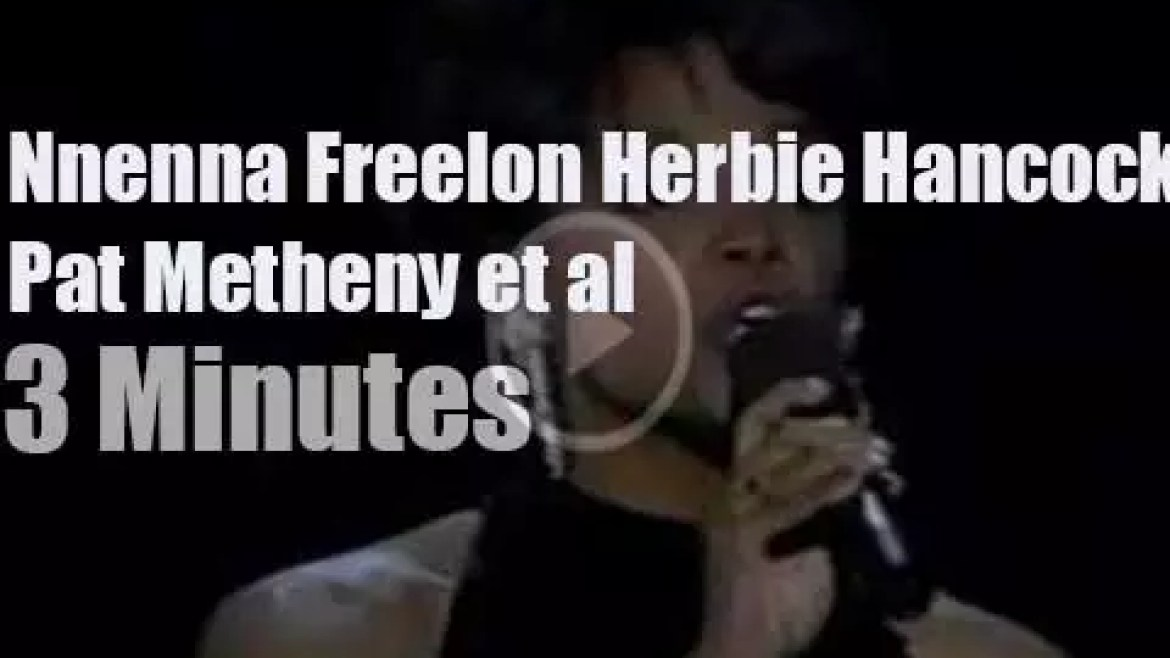 Nnenna Freelon has a stellar backing band (1996)
