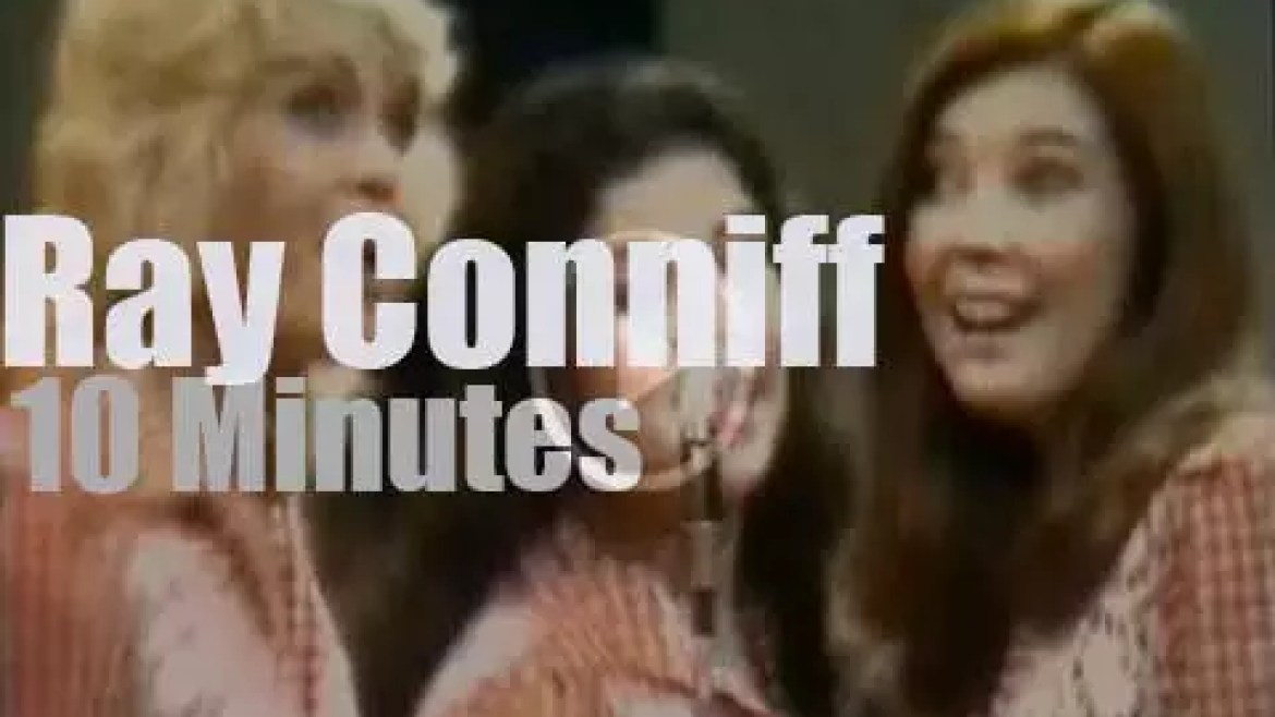 On TV, Ray Conniff on 'The David Frost Show' (1973)