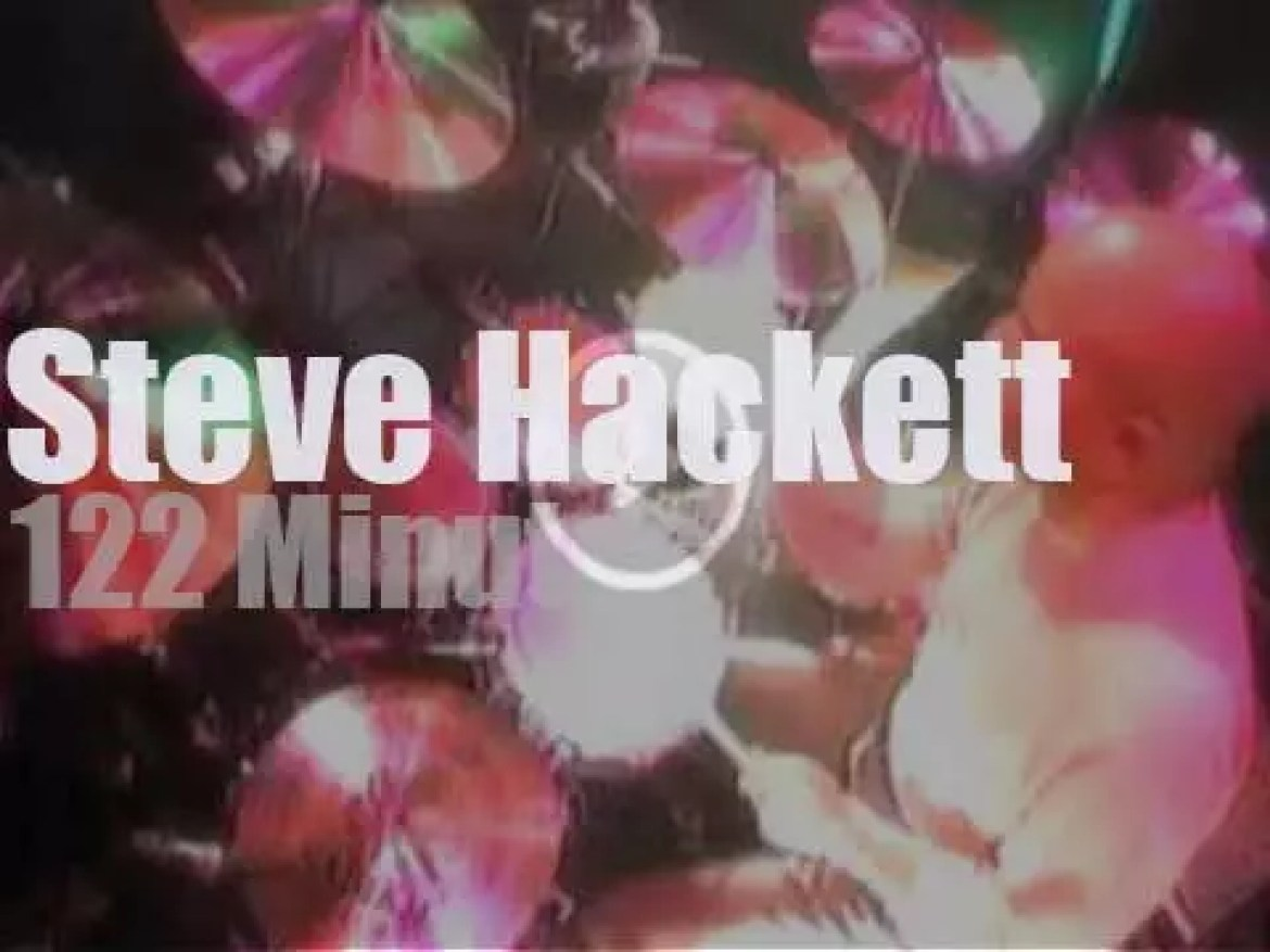 Steve Hackett takes his friends to Tokyo (1996)