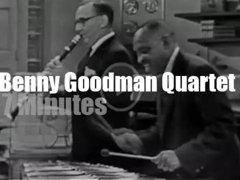 On TV today, The Benny Goodman Quartet (1959)