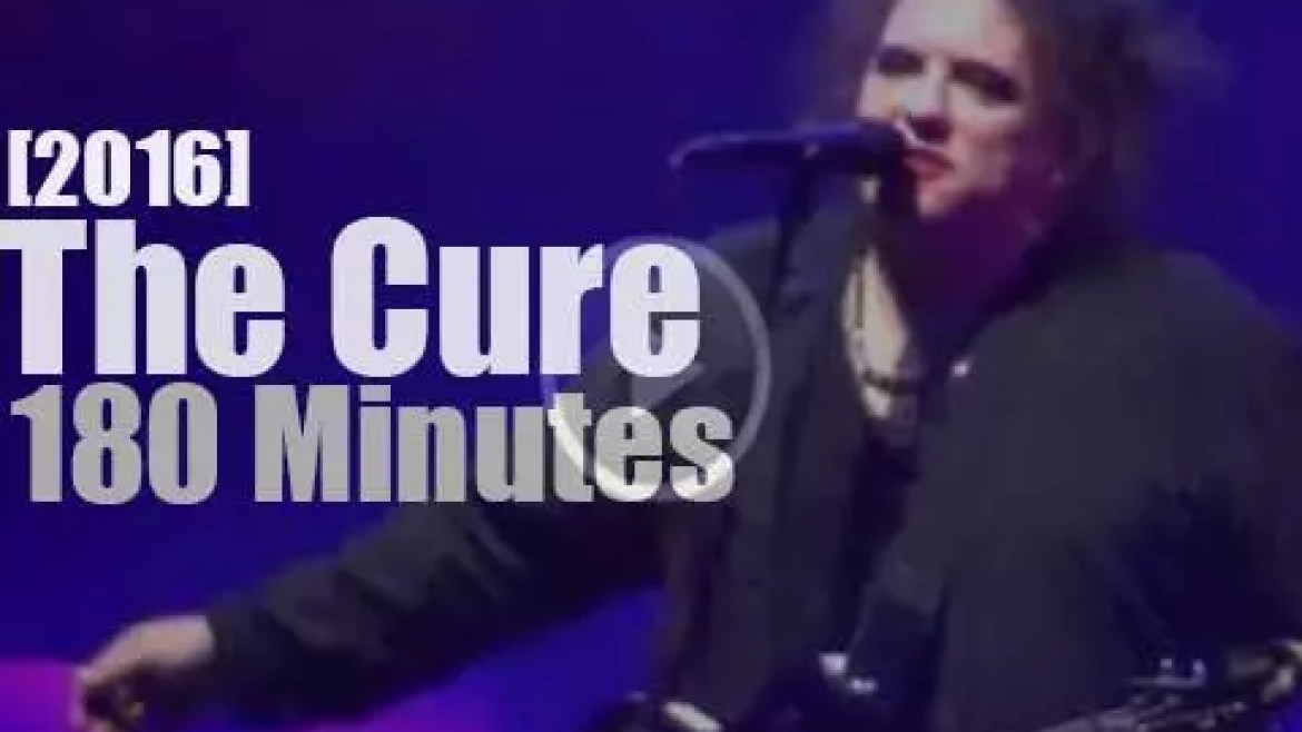 The Cure close in London (2016)