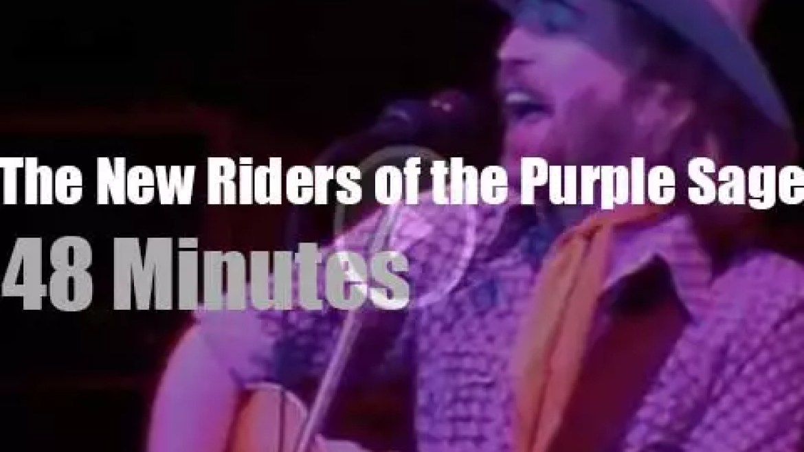 The New Riders of the Purple Sage  open for the Dead (1981)