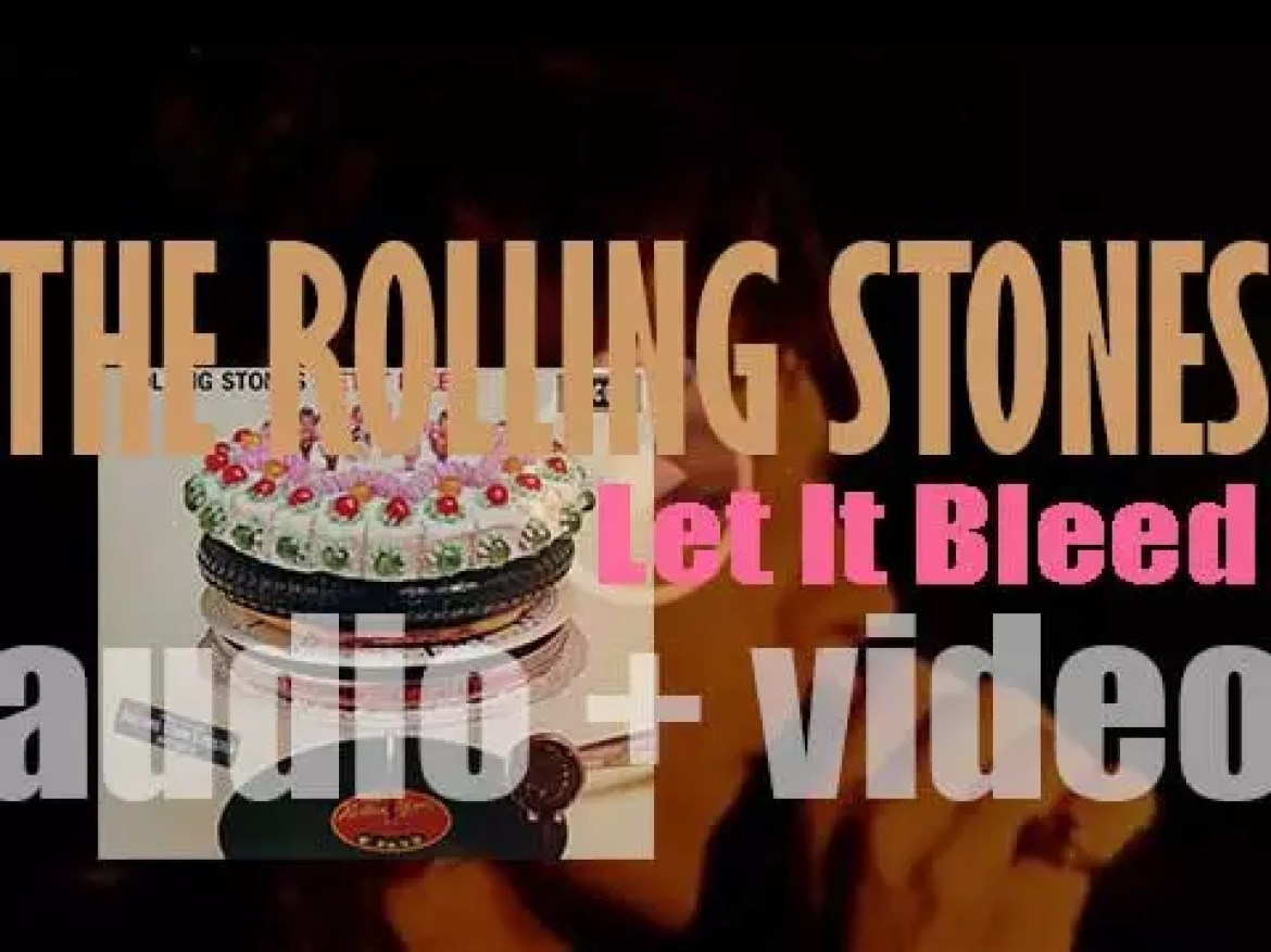 The Rolling Stones release their eighth album : 'Let It Bleed' featuring 'Gimme Shelter,' 'Love in Vain,' 'Midnight Rambler' and 'You Can't Always Get What You Want' (1969)