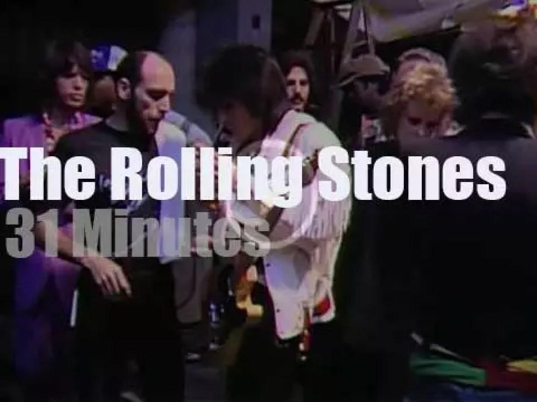 The Rolling Stones rock Virginia (1981)