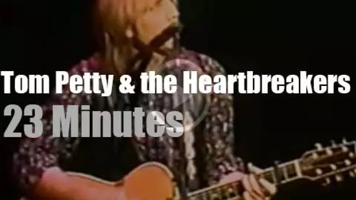 Tom Petty & the Heartbreakers perform for a school (1988)