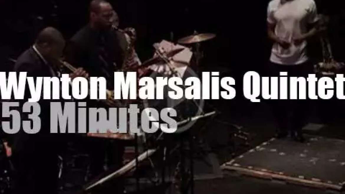 Wynton Marsalis Quintet ends the year in NYC (2014)