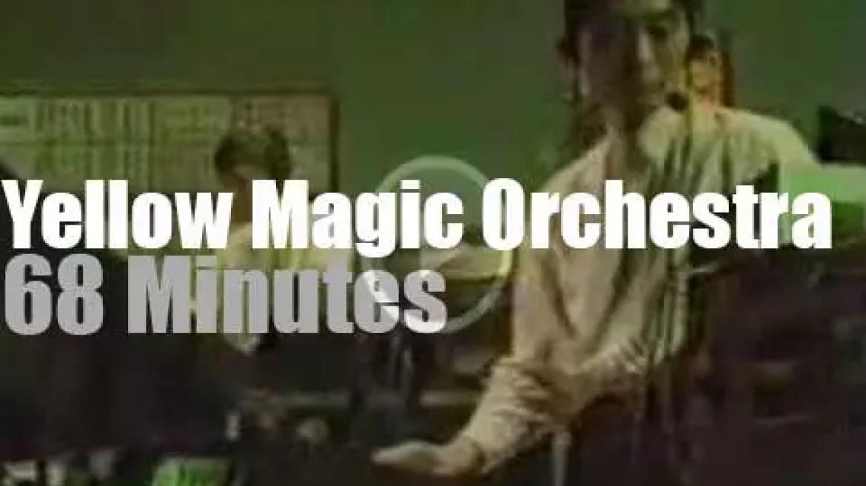 Yellow Magic Orchestra close their world tour (1980)