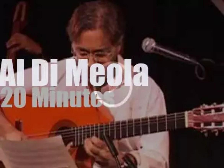 Al Di Meola takes World Sinfonia to NYC (2009)
