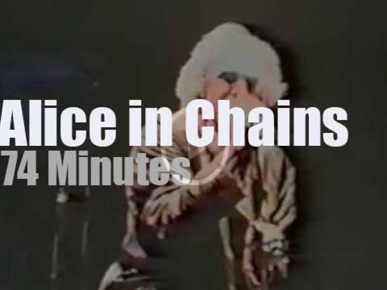 Alice In Chains visit Frankfurt (1993)