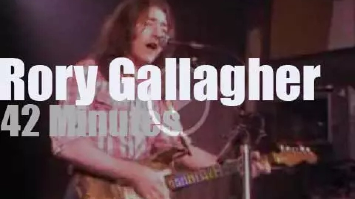 BBC tapes Rory Gallagher  (1979)
