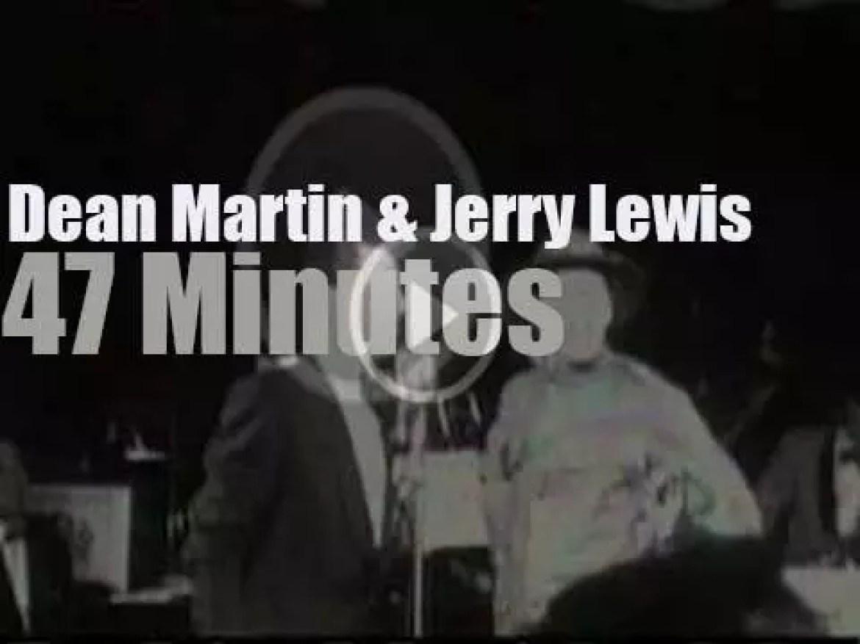 Dean Martin & Jerry Lewis kill Copacabana (1954)