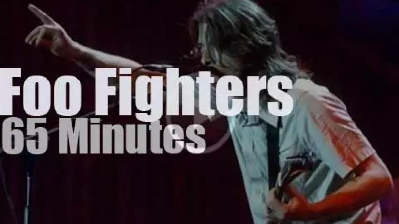 Foo Fighters 'rock in Rio'  (2001)