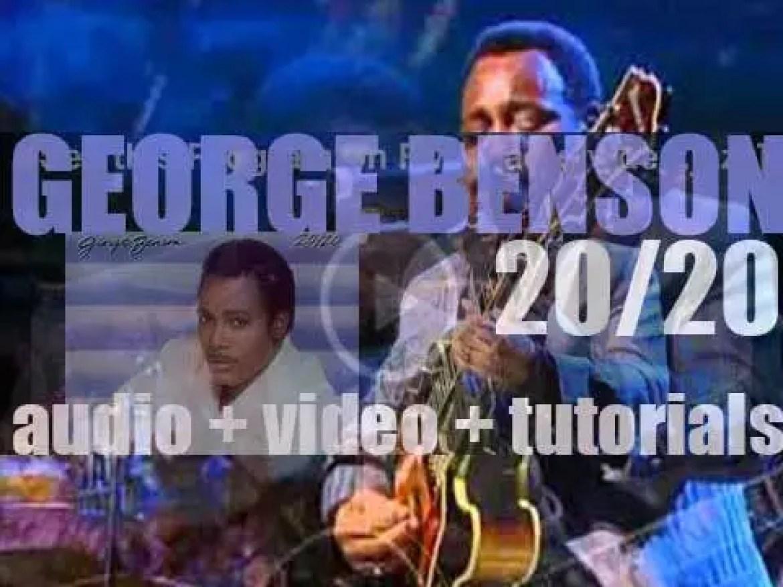 Warner Bros. publish George Benson's album :  '20/20′ (1985)