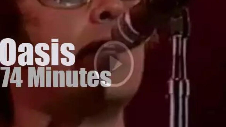 Oasis rock Rio (2001)