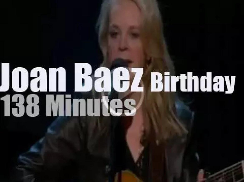 Paul, Jackson, Emmylou et al celebrate Joan Baez (2016)