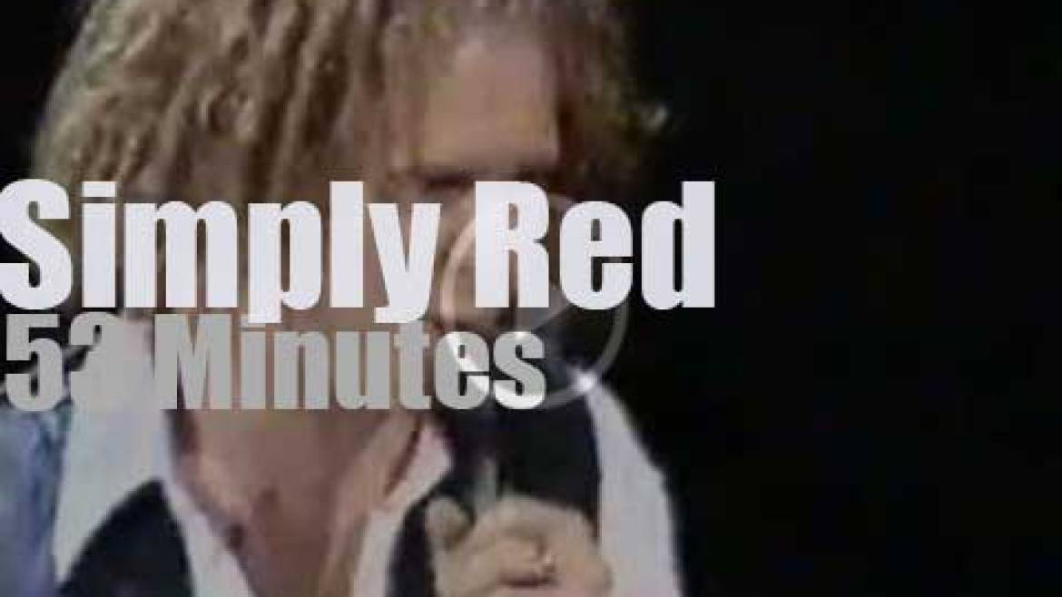 Simply Red serenade Manchester (1996)