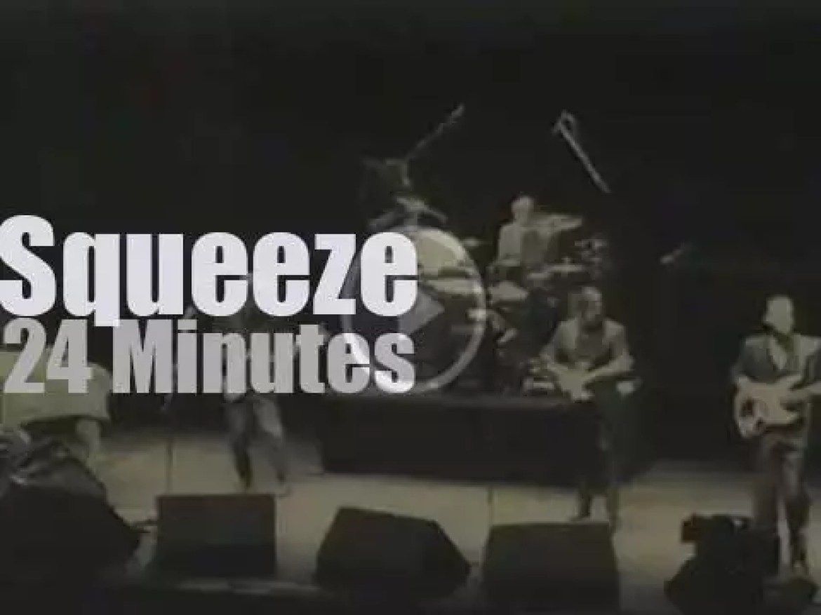 Squeeze go to Newcastle (1990)