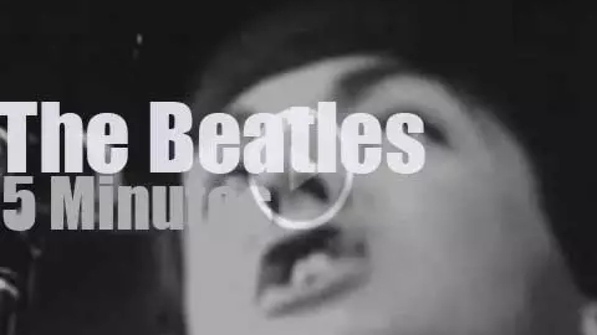 The Beatles open for Trini Lopez (1964)