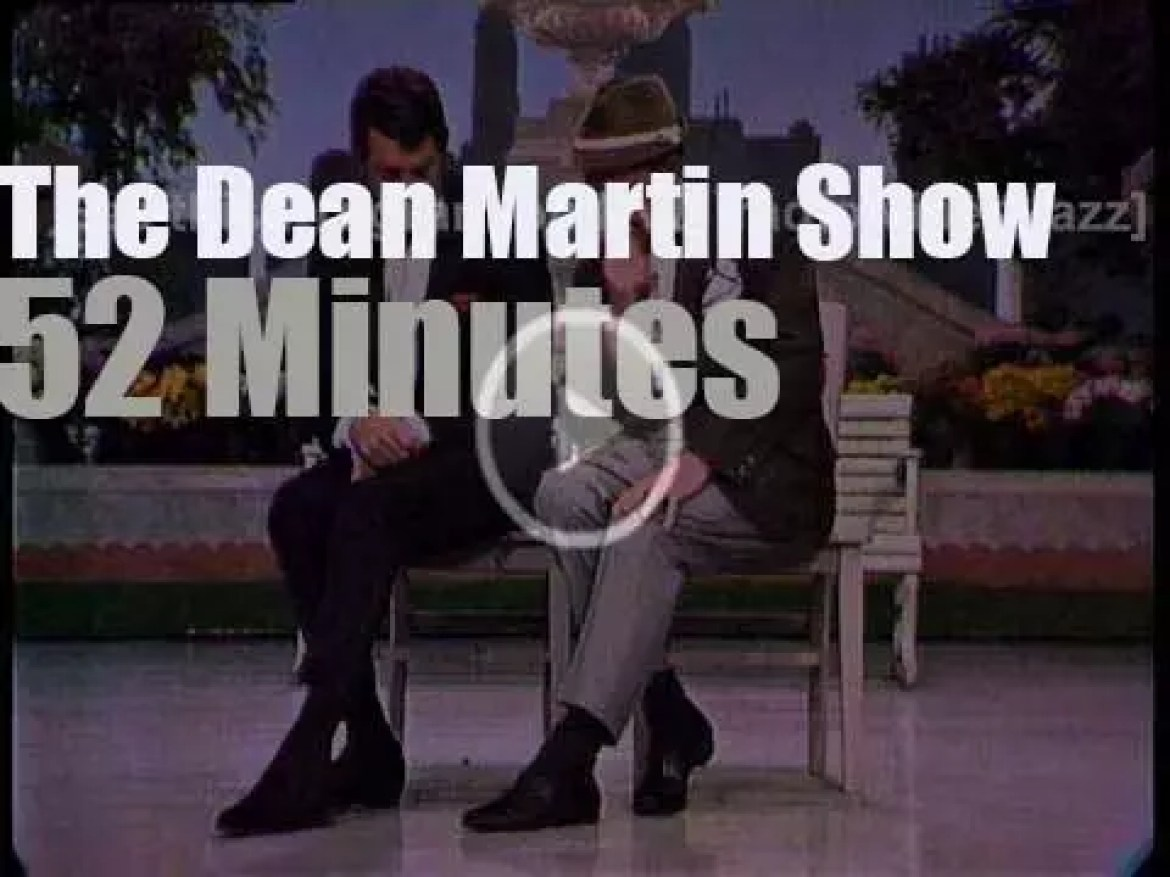 On TV today, 'The Dean Martin Show' (1967)