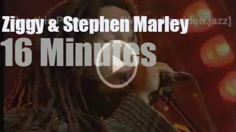 Ziggy Marley & Stephen Marley team up (1992)
