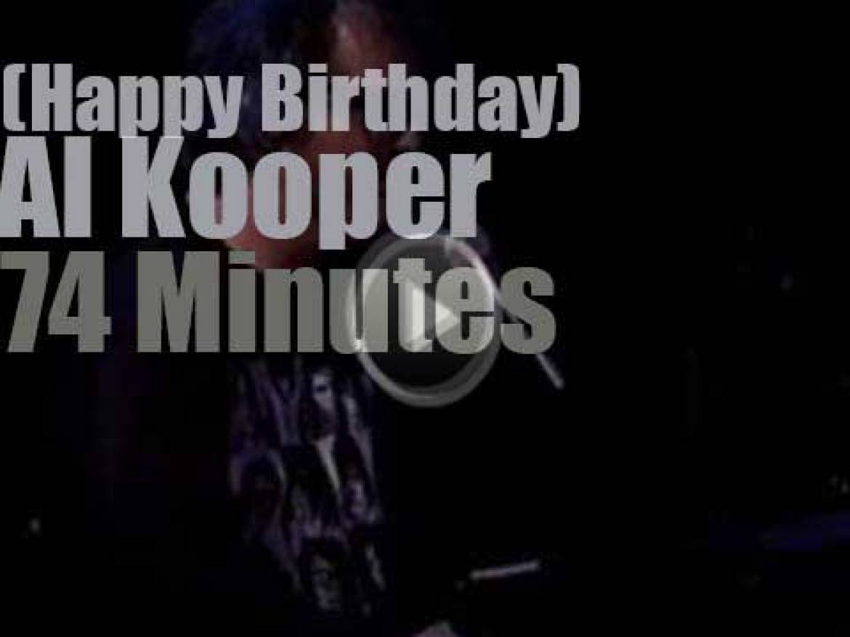Happy Birthday Al Kooper