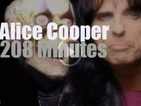 Alice Cooper On Rvm Radiovideomusic