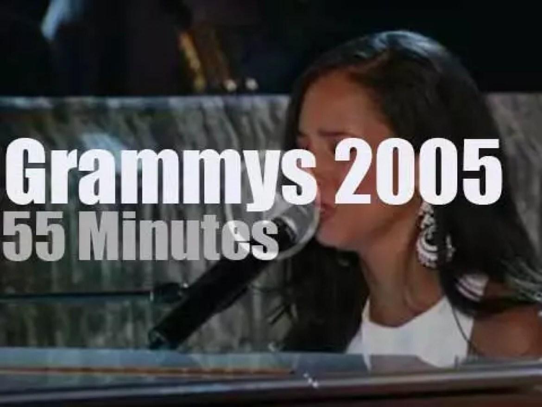 Alicia, Madonna, Gorillaz et al at the '47th Grammys' (2005)