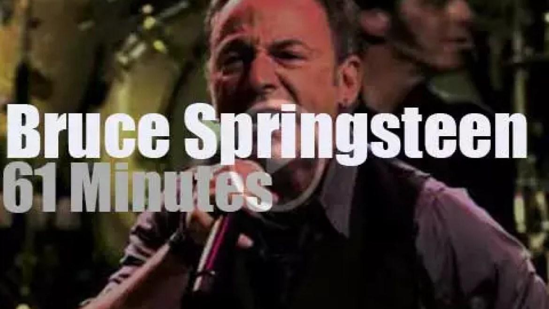 Bruce Springsteen visits Sydney (2014)