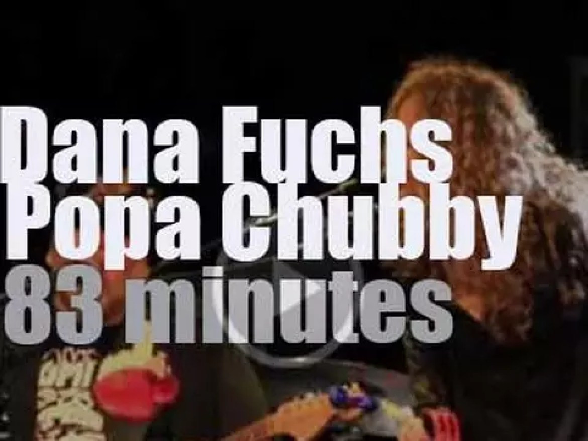 Dana Fuchs & Popa Chubby join forces in  Connecticut (2016)