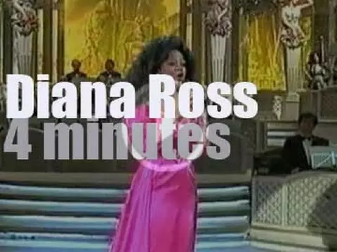 On TV today, Diana Ross attends the San Remo Music Festival (1993)