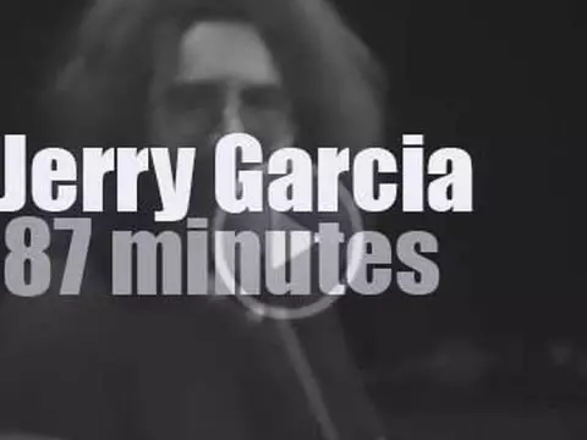 Jerry Garcia and his Band travel to New-Jersey (1980)