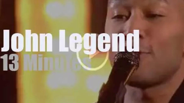 John Legend sings at NBA All-Star halftime (2017)