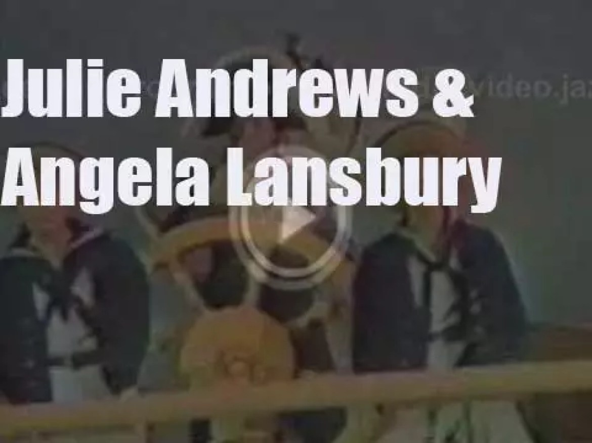 On TV today, Julie Andrews with Angela Lansbury (1973)