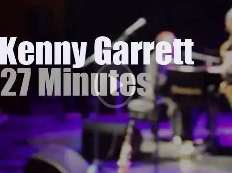 Kenny Garrett performs in Belgium (2015)