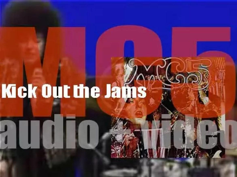 Elektra Records publish MC5's debut (and live) album :  'Kick Out the Jams' (1969)