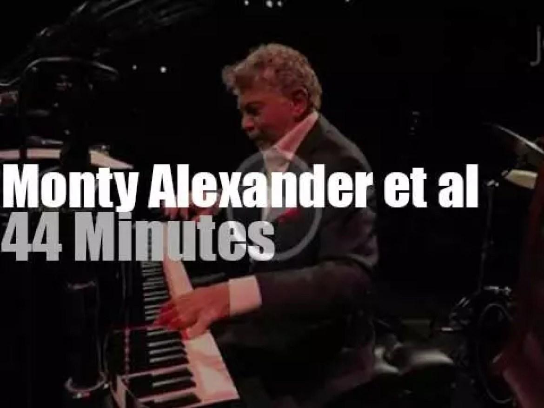 Monty Alexander & Friends celebrate Sinatra (2016)