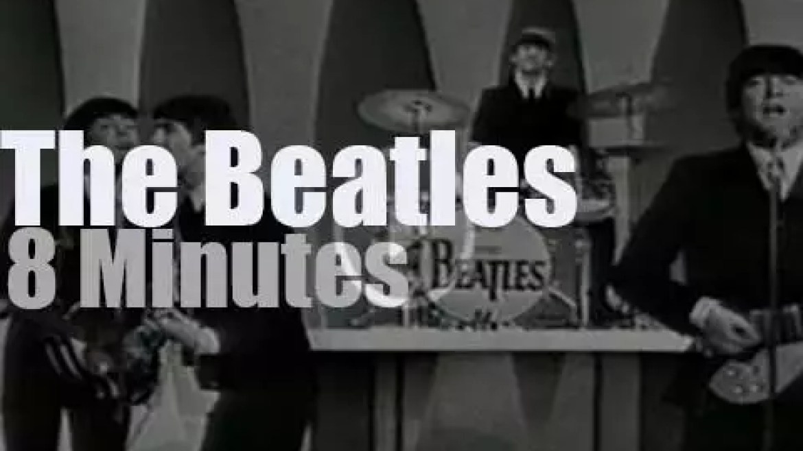 On TV today, The Beatles return to 'The Ed Sullivan Show'  (1964)