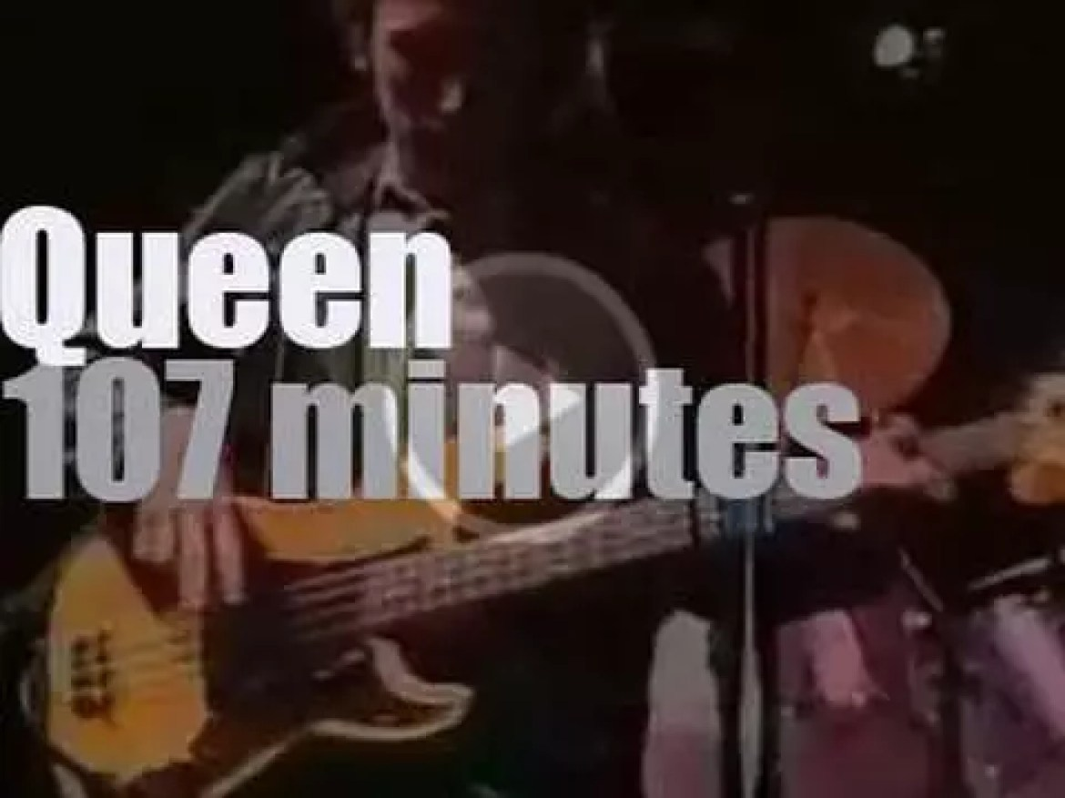 Queen 'will rock you,' you citizens of Buenos Aires! (1981)