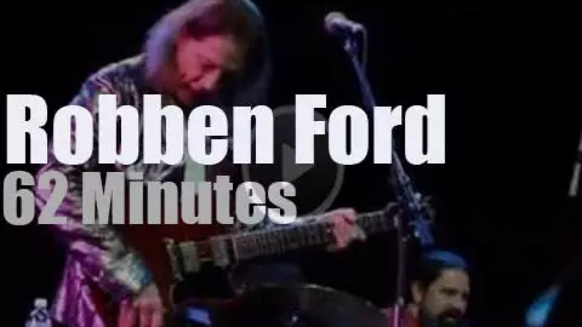 Robben Ford rocks the cruise ship  (2015)