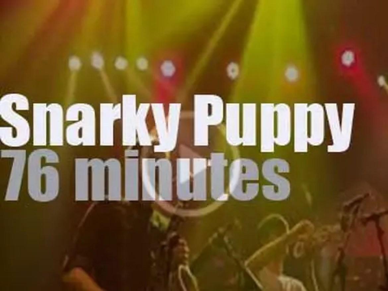 Snarky Puppy attend the Java Jazz Festival in Jakarta  (2014)